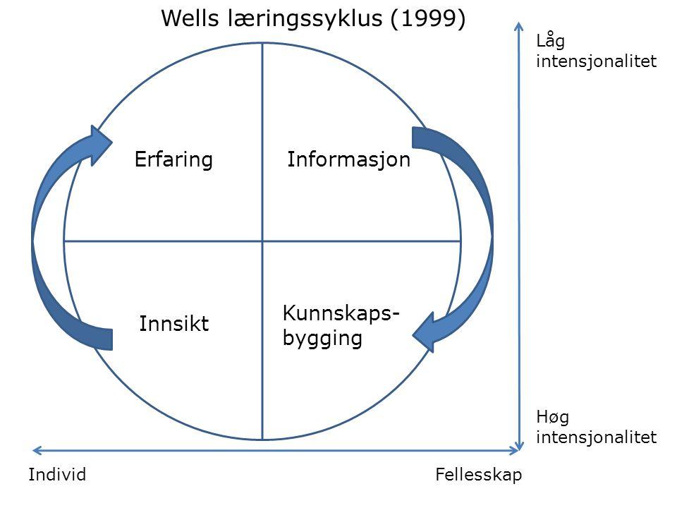 Wells læringssyklus (1999)