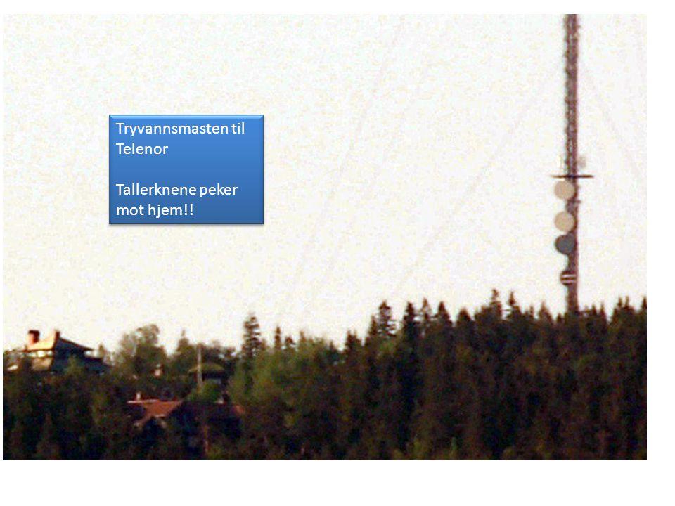 Tryvannsmasten til Telenor
