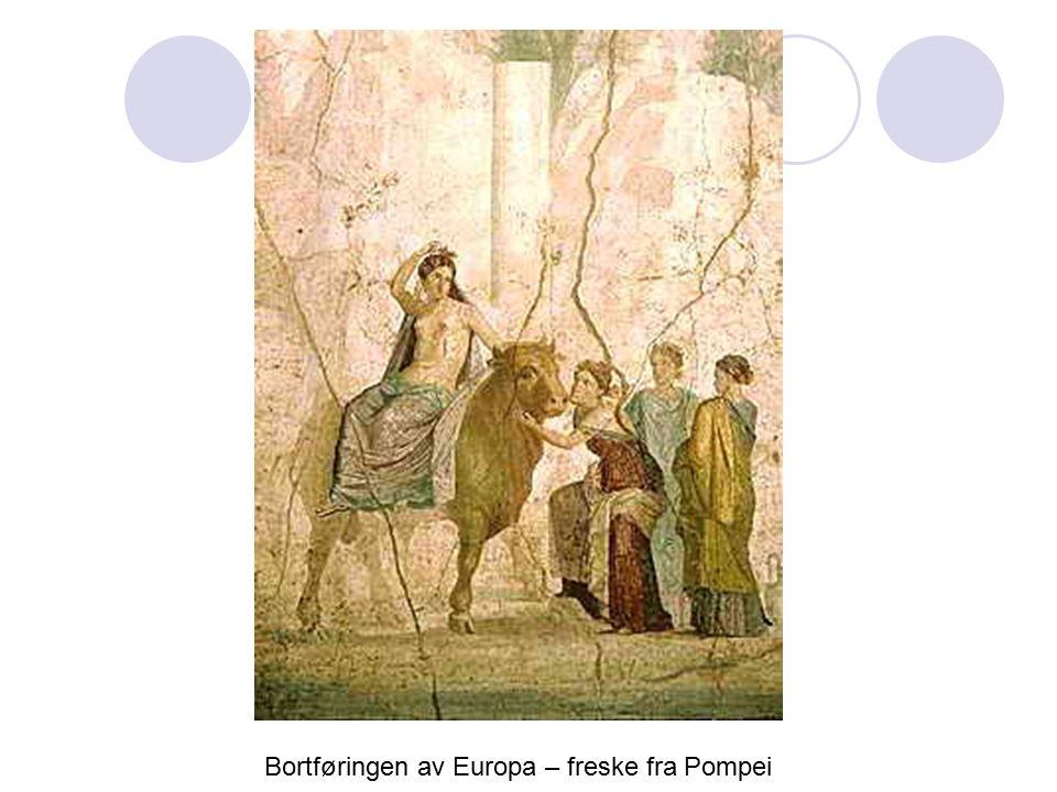 Bortføringen av Europa – freske fra Pompei