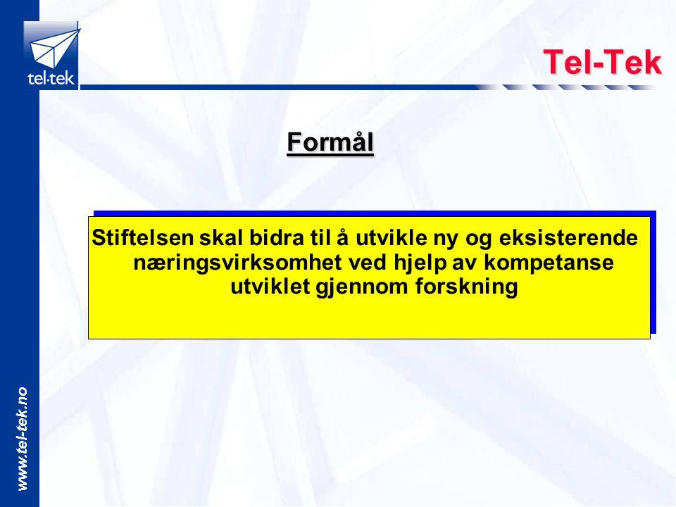Tel-Tek Formål.