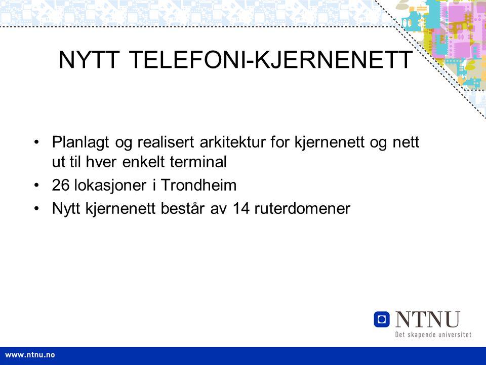 NYTT TELEFONI-KJERNENETT