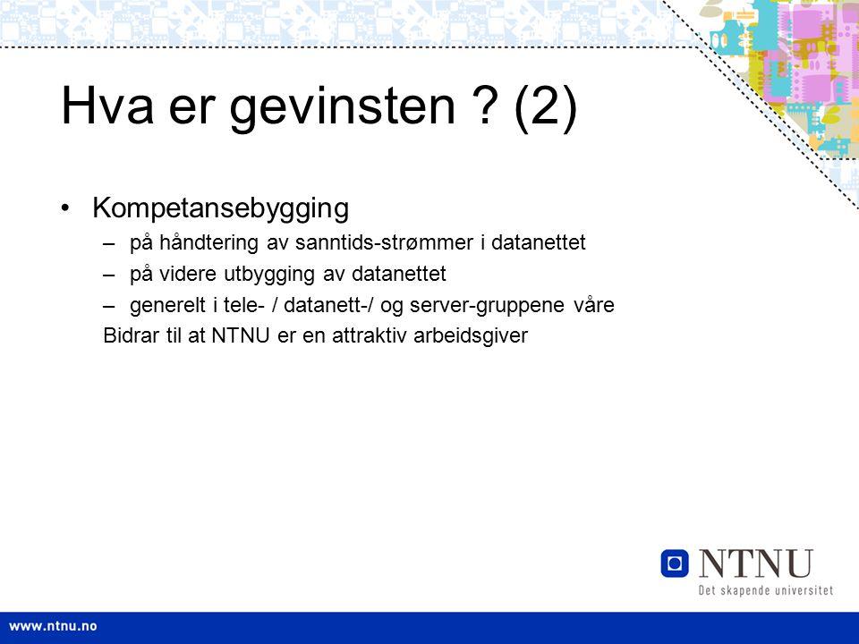 Hva er gevinsten (2) Kompetansebygging