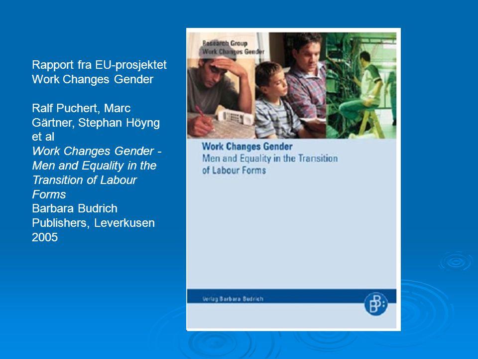 Rapport fra EU-prosjektet