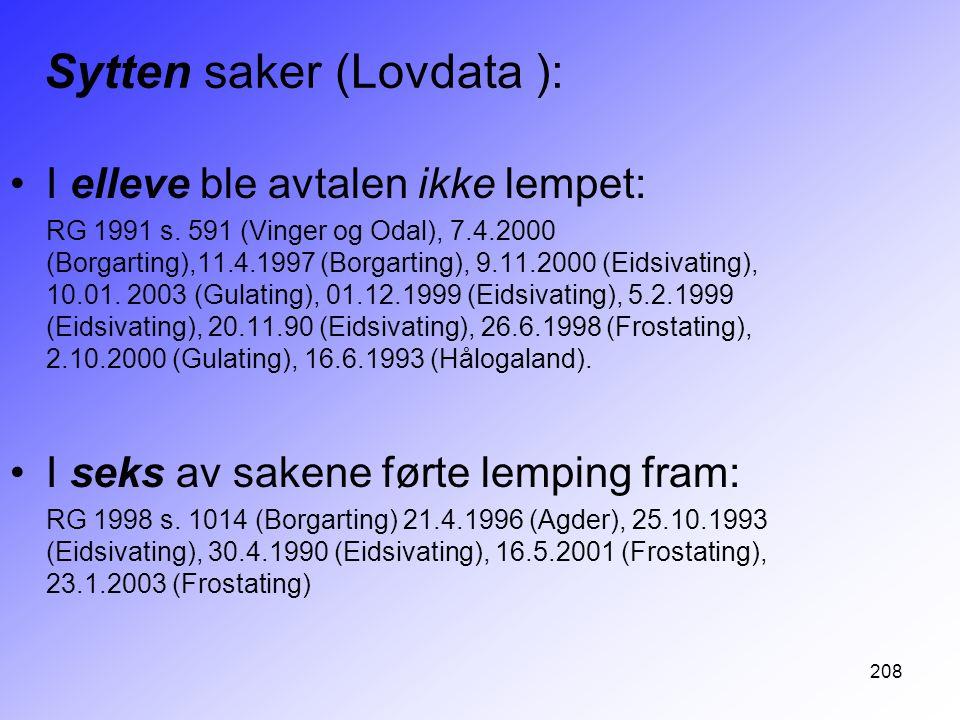 Sytten saker (Lovdata ):