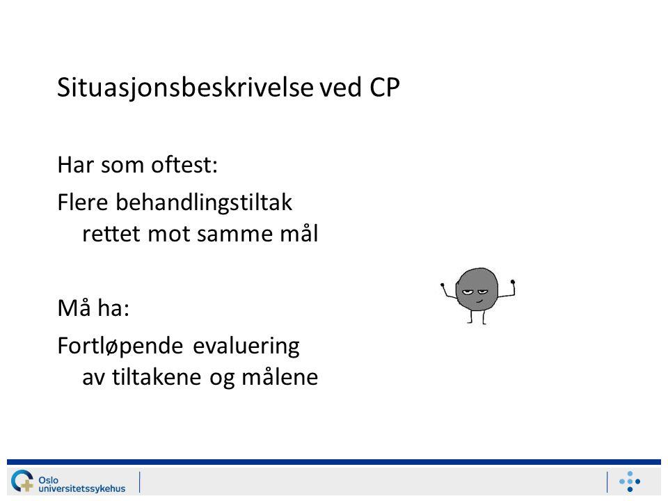 Situasjonsbeskrivelse ved CP