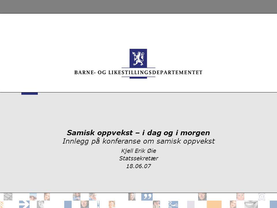 Kjell Erik Øie Statssekretær 18.06.07