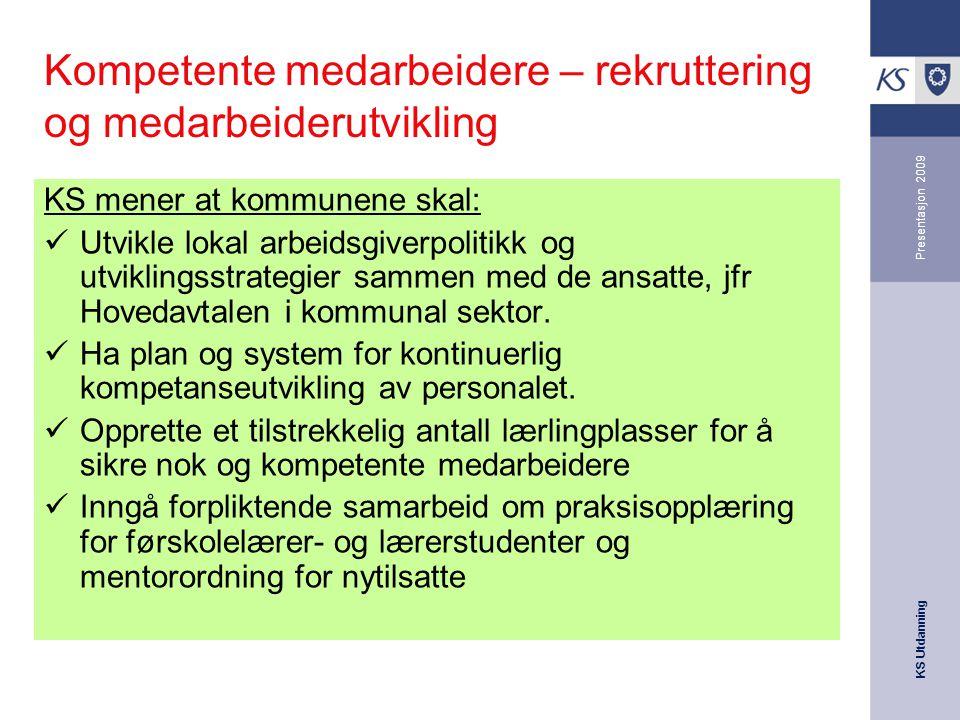 Kompetente medarbeidere – rekruttering og medarbeiderutvikling