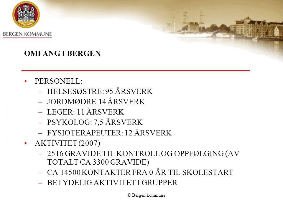 FYSIOTERAPEUTER: 12 ÅRSVERK AKTIVITET (2007)