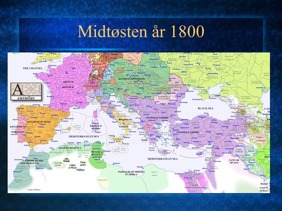 Midtøsten år 1800