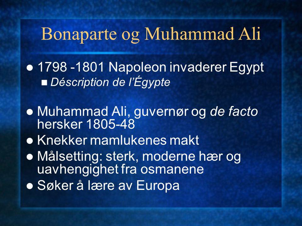 Bonaparte og Muhammad Ali