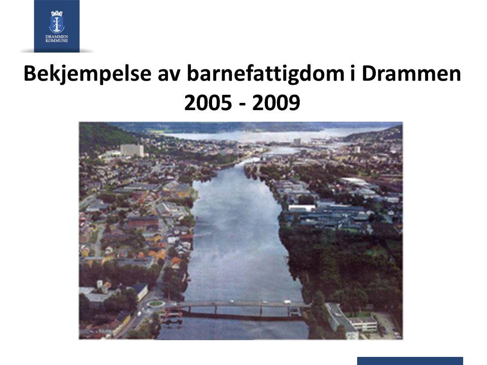 Bekjempelse av barnefattigdom i Drammen 2005 - 2009