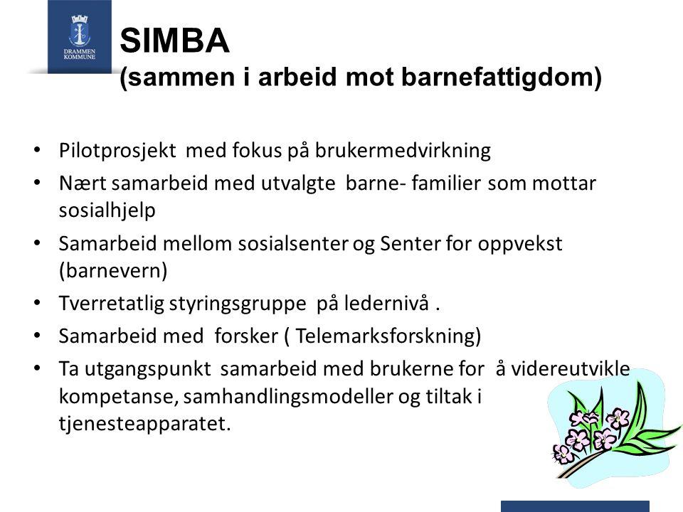 SIMBA (sammen i arbeid mot barnefattigdom)