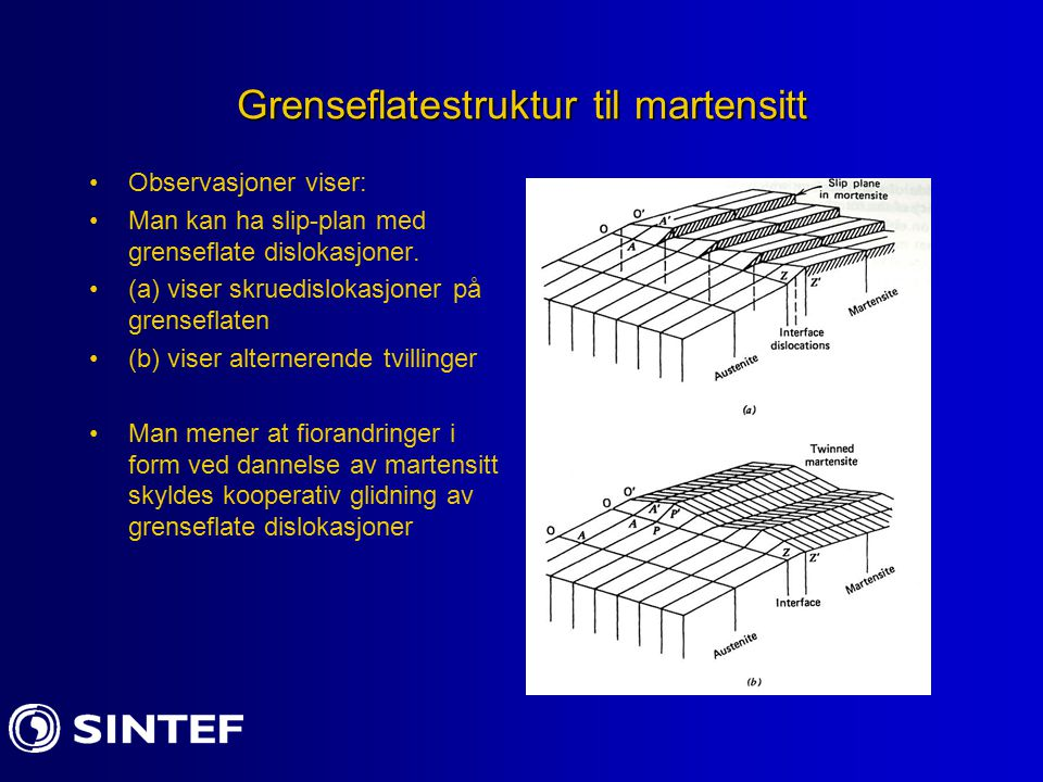 Grenseflatestruktur til martensitt