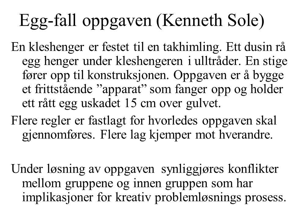 Egg-fall oppgaven (Kenneth Sole)