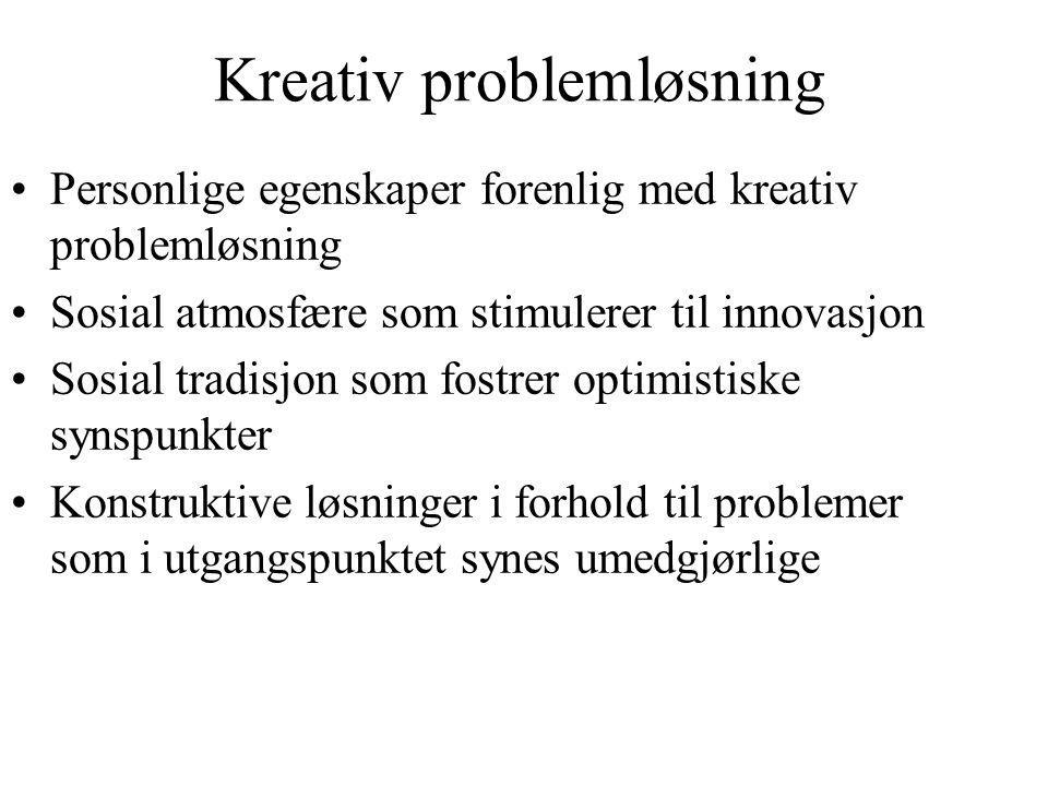 Kreativ problemløsning