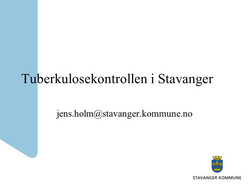 Tuberkulosekontrollen i Stavanger