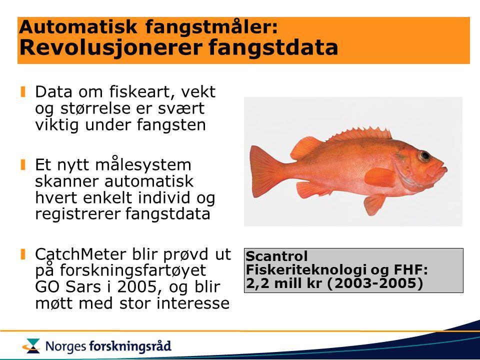 Automatisk fangstmåler: Revolusjonerer fangstdata