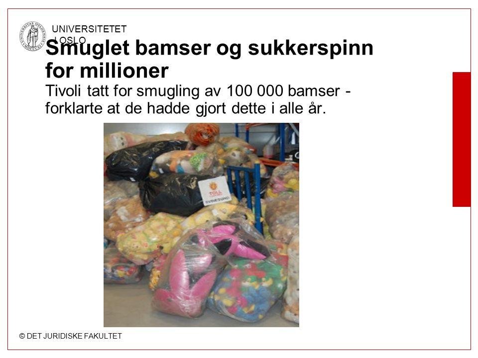 Smuglet bamser og sukkerspinn for millioner Tivoli tatt for smugling av 100 000 bamser - forklarte at de hadde gjort dette i alle år.