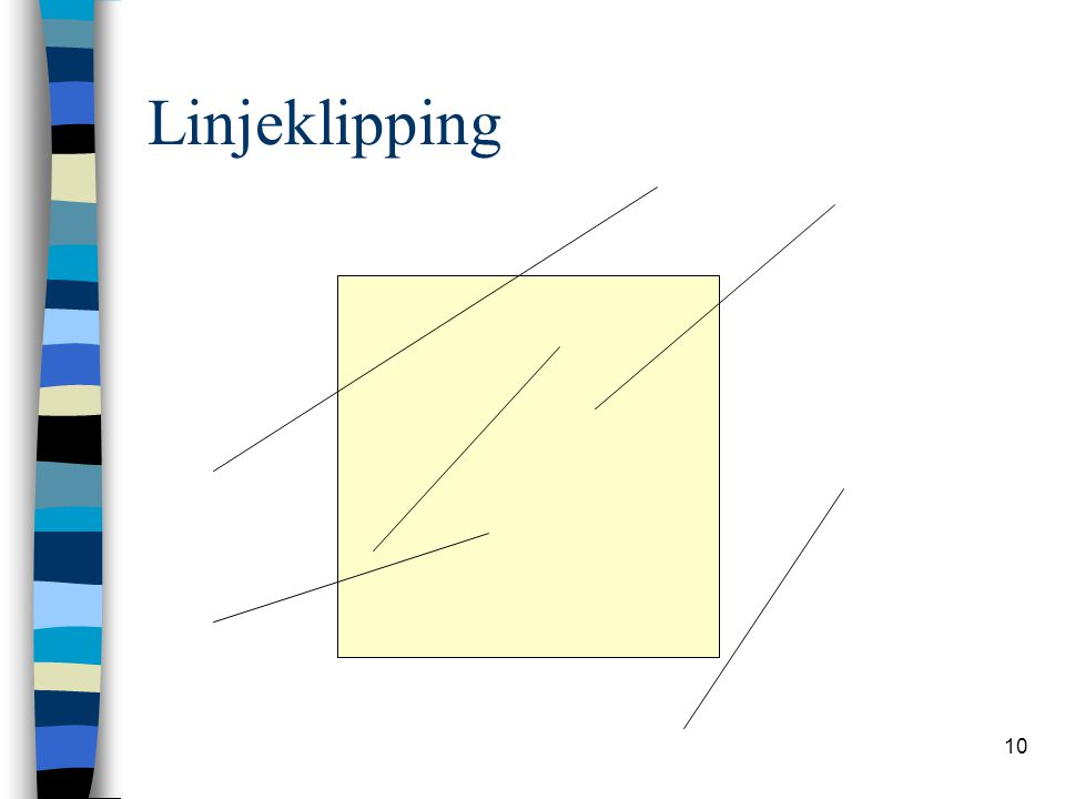 Linjeklipping