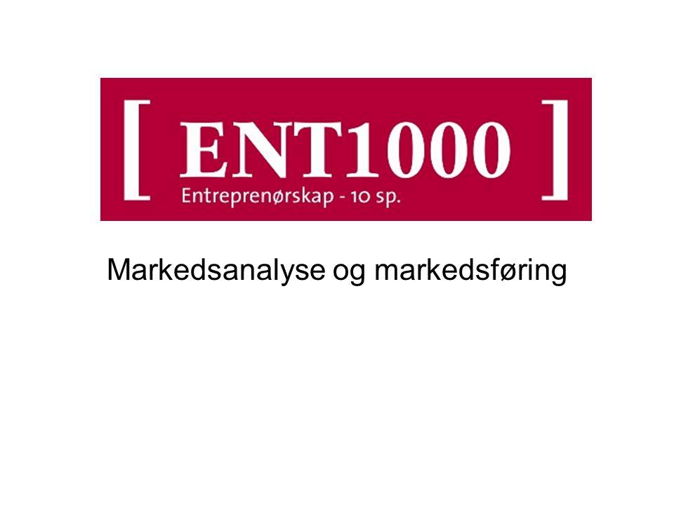 Markedsanalyse og markedsføring