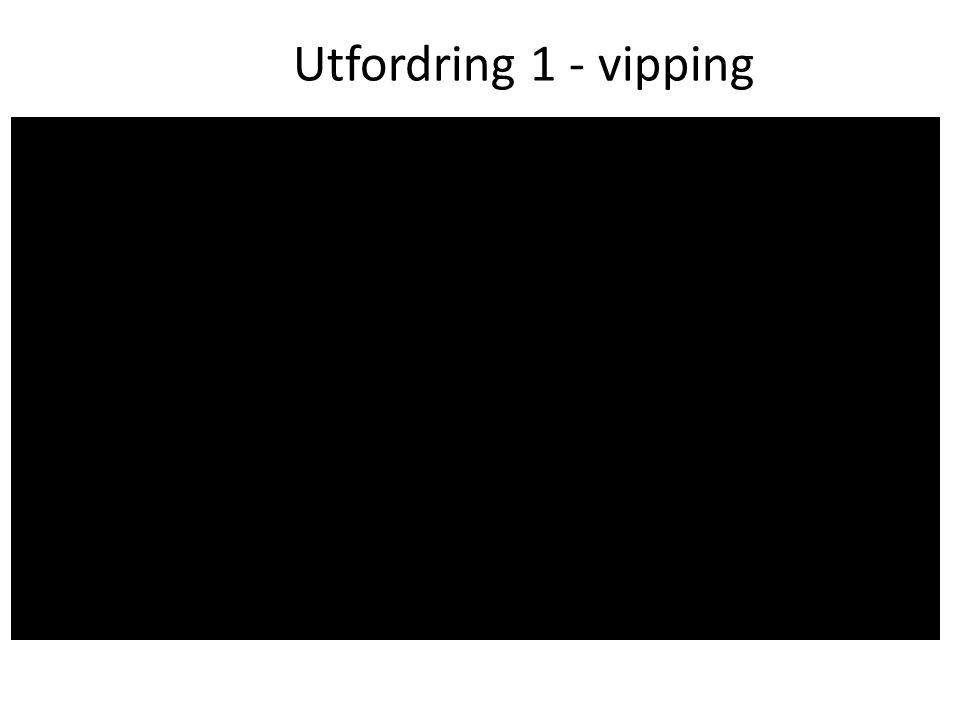 Utfordring 1 - vipping
