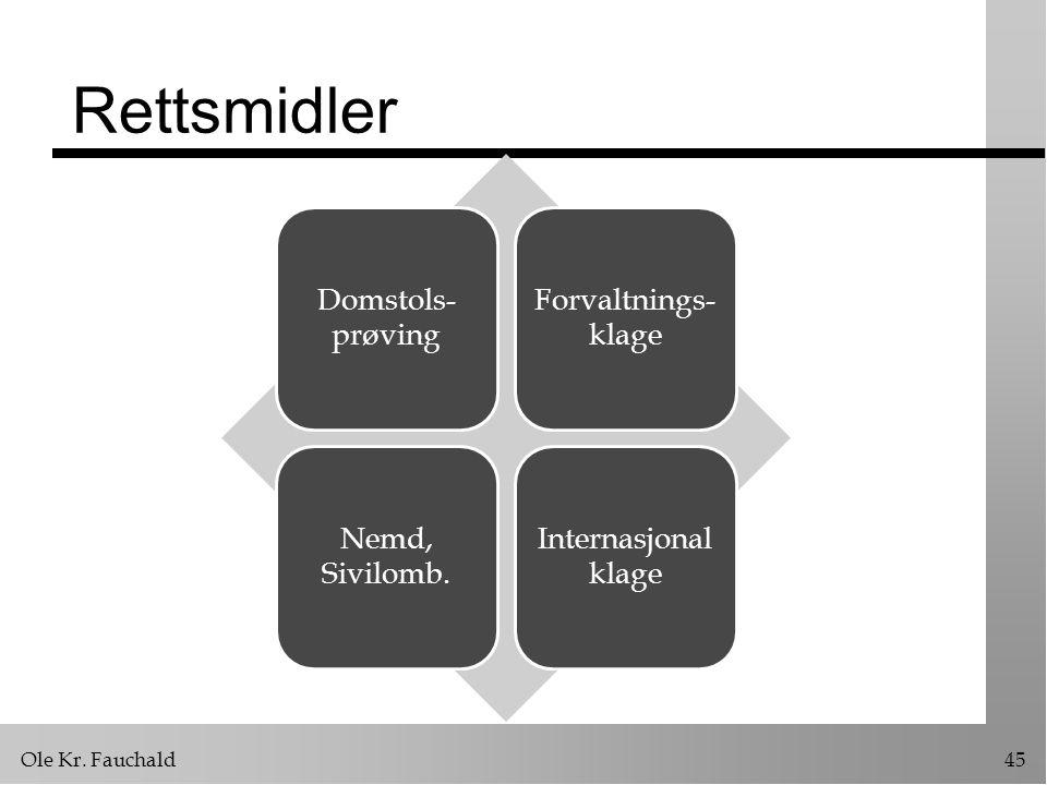 Rettsmidler Domstols-prøving Forvaltnings-klage Nemd, Sivilomb.
