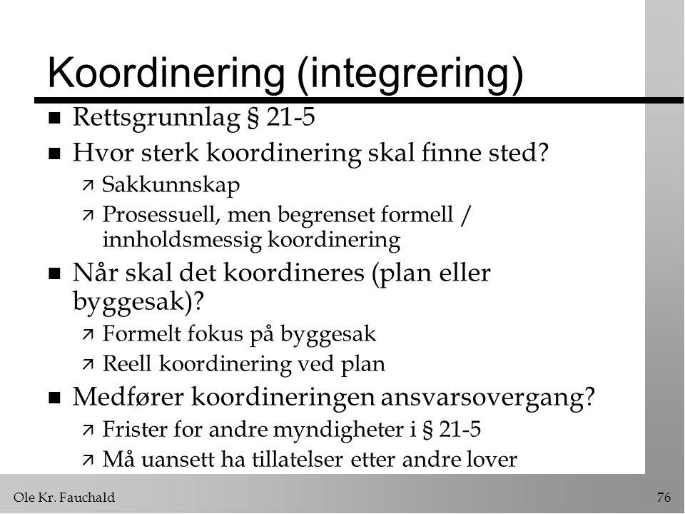 Koordinering (integrering)