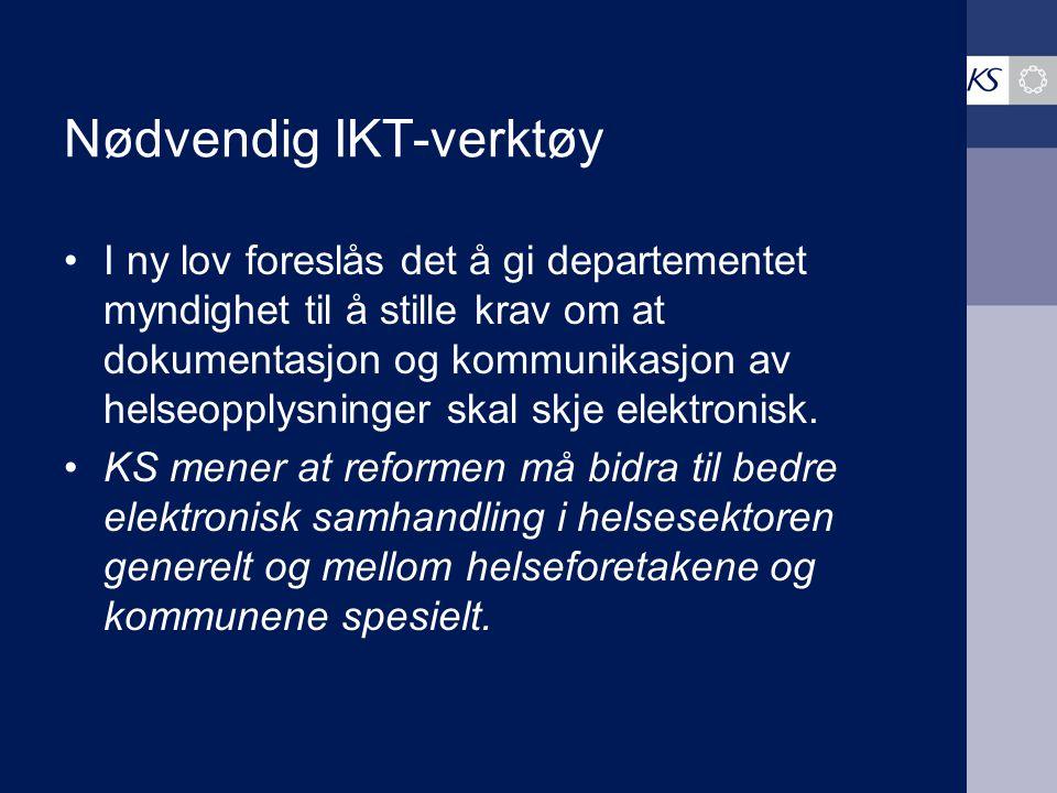 Nødvendig IKT-verktøy