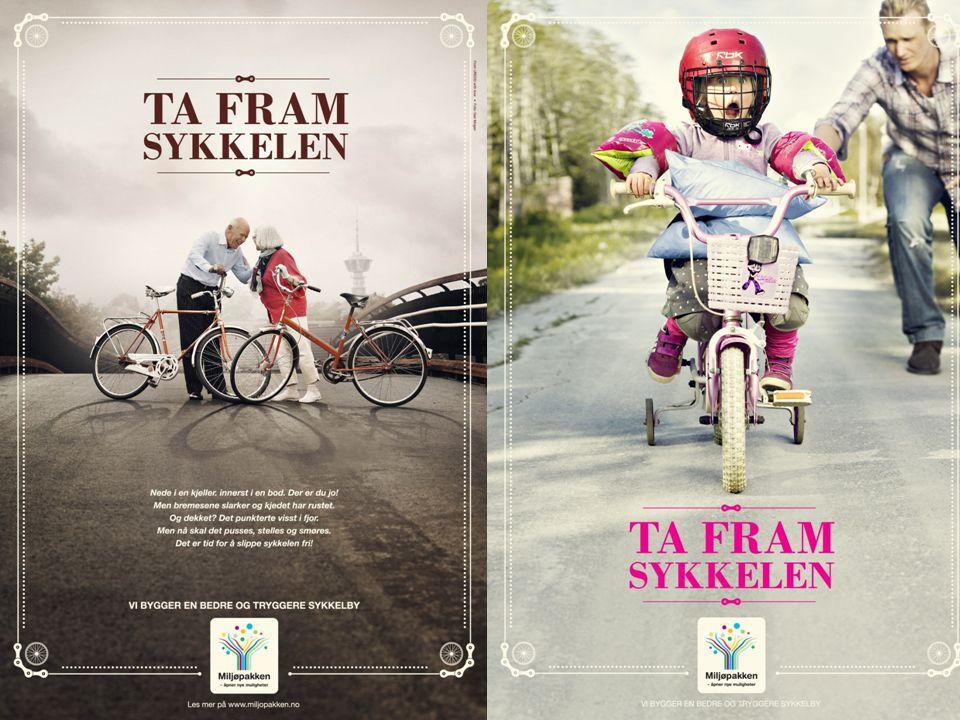 Vi kjørte plakatkampanje 6 uker i 2013