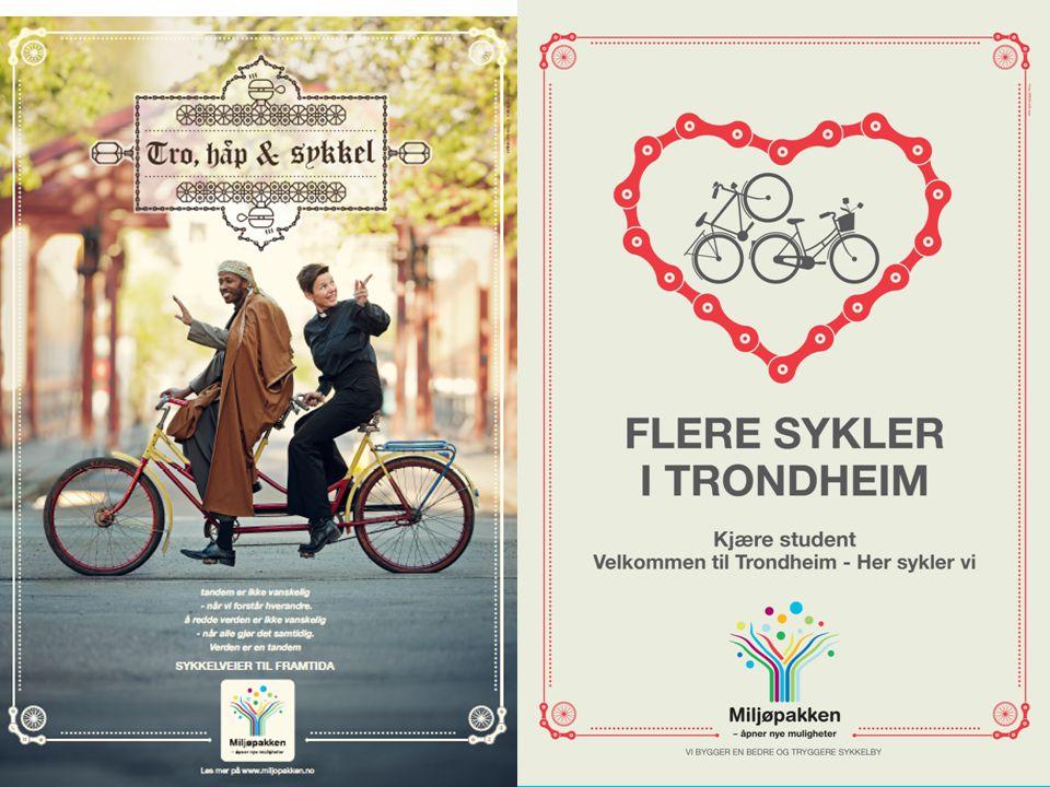 To eksempler til, fra Olavsfestdagene og en vi kjøre på høsten rett etter at tusenvis av nye studenter var kommet til byen.
