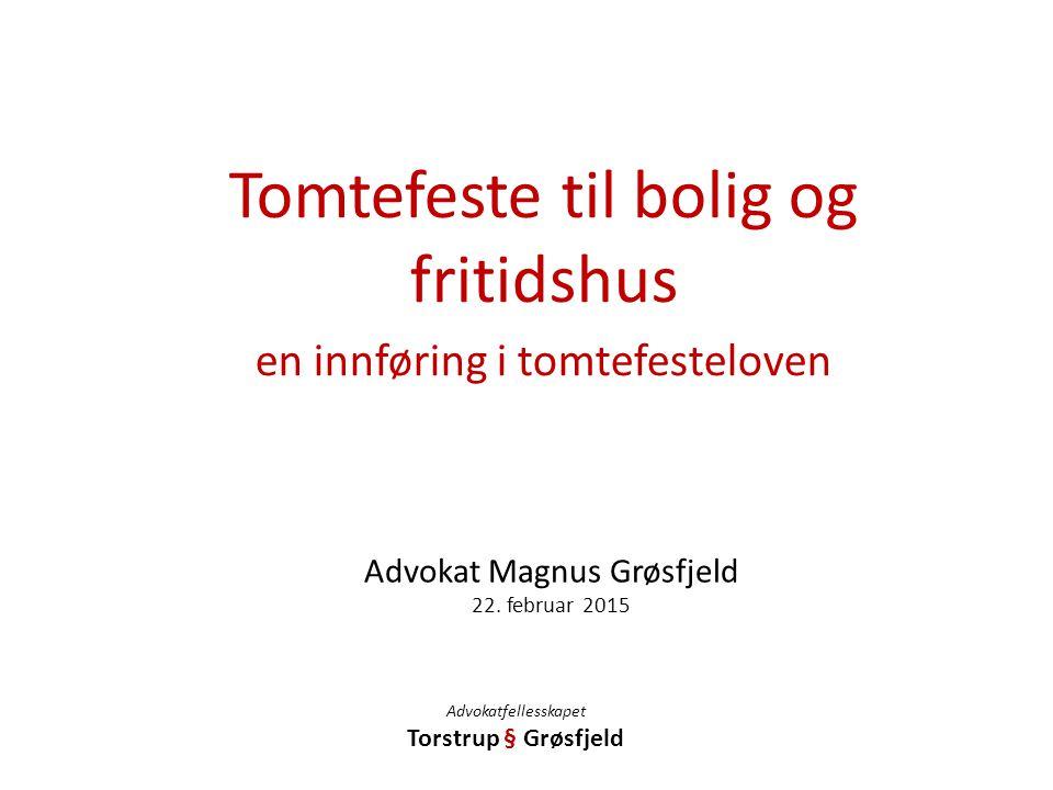Advokat Magnus Grøsfjeld 22. februar 2015