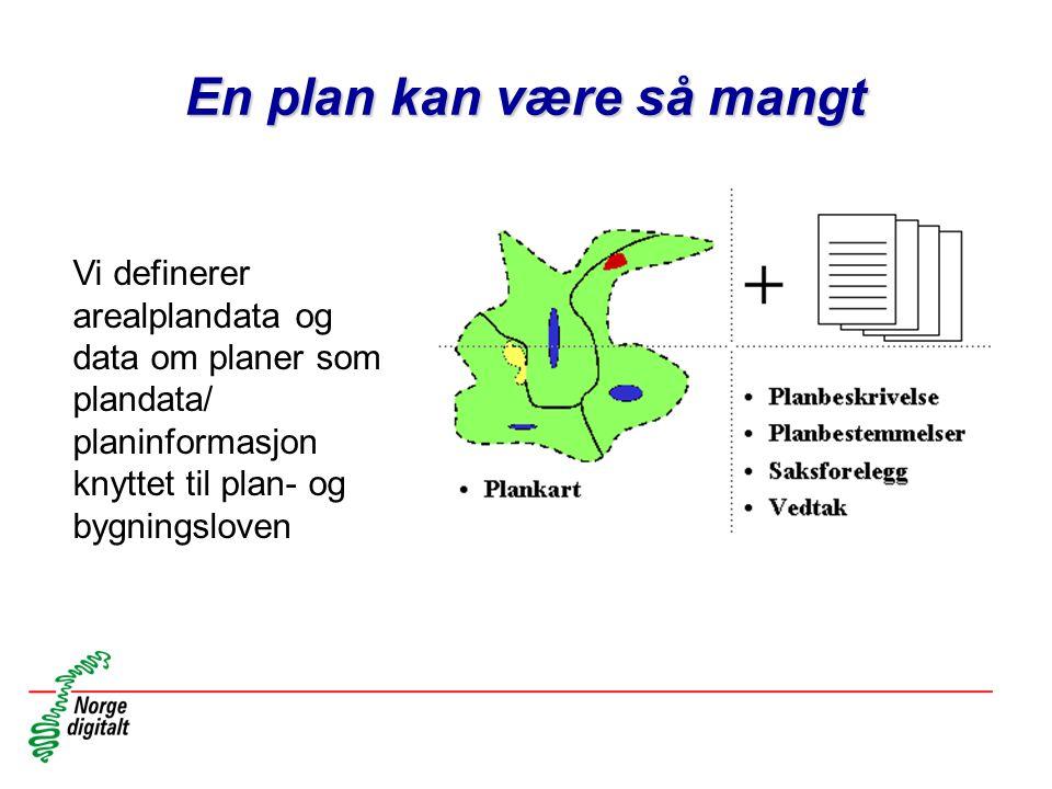 En plan kan være så mangt