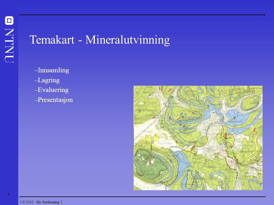Temakart - Mineralutvinning