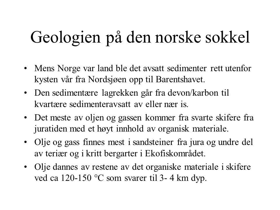 Geologien på den norske sokkel