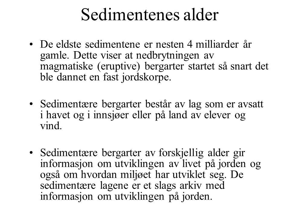 Sedimentenes alder