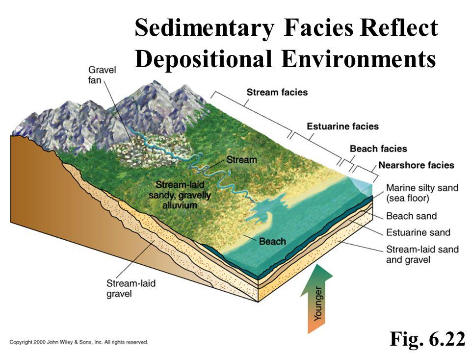 Sedimentary Facies Reflect Depositional Environments