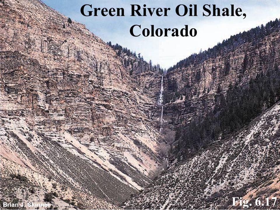 Green River Oil Shale, Colorado