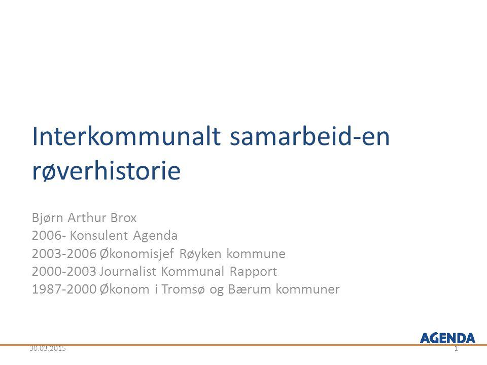 Interkommunalt samarbeid-en røverhistorie