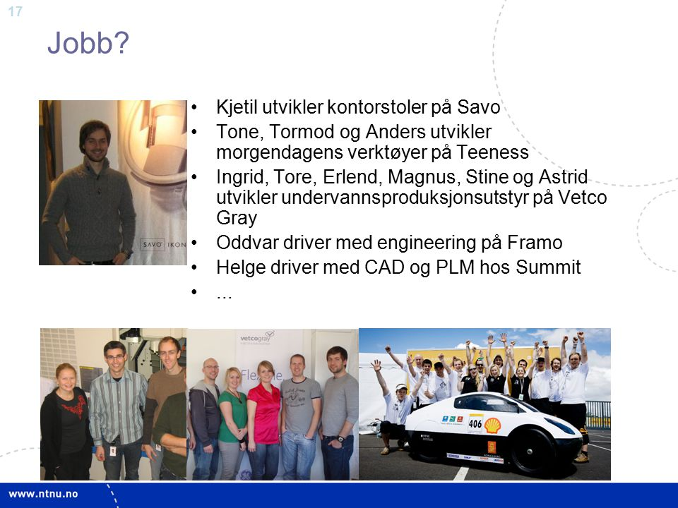Jobb Kjetil utvikler kontorstoler på Savo