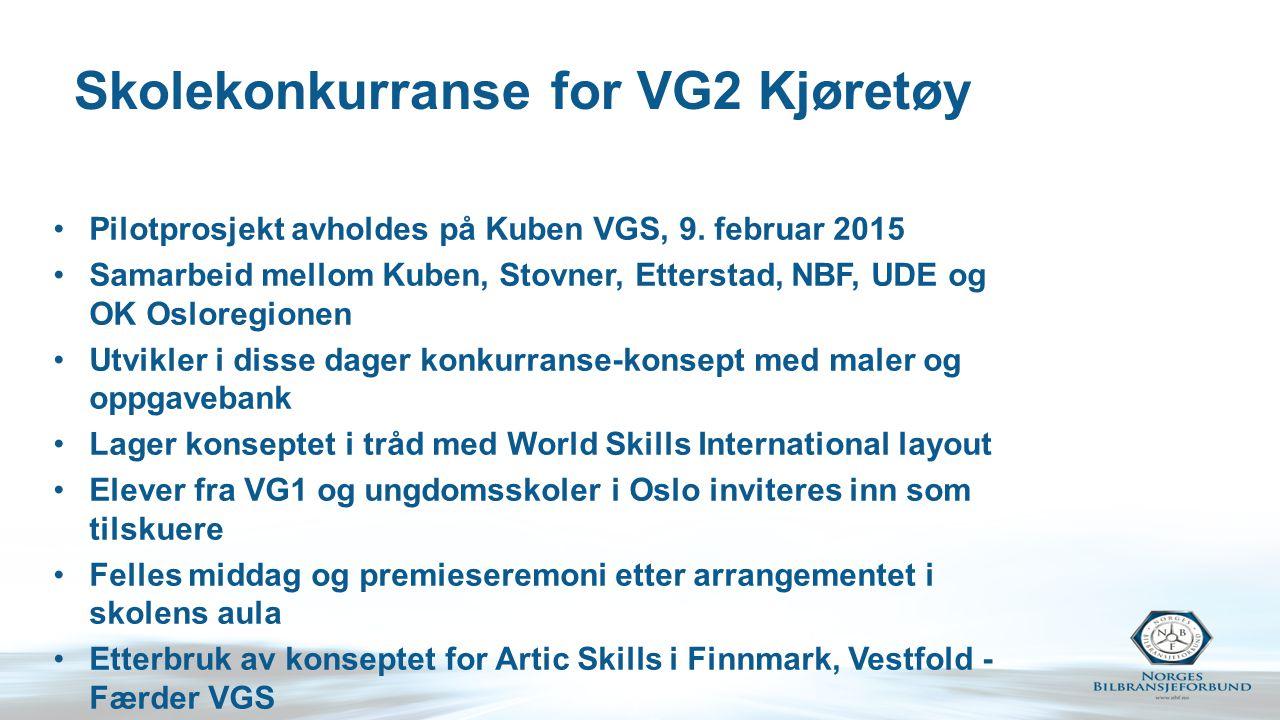 Skolekonkurranse for VG2 Kjøretøy