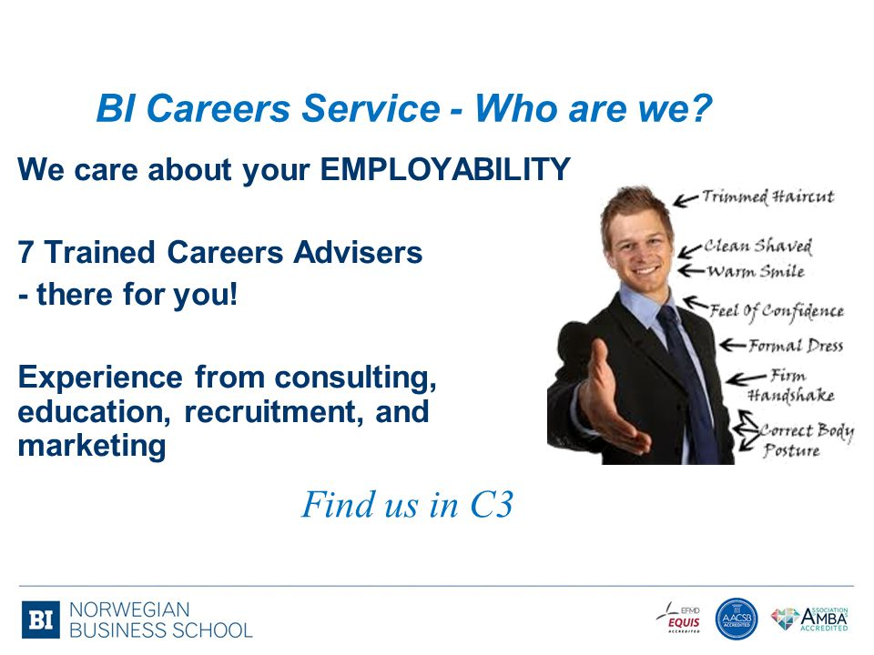 BI Careers Service - Who are we