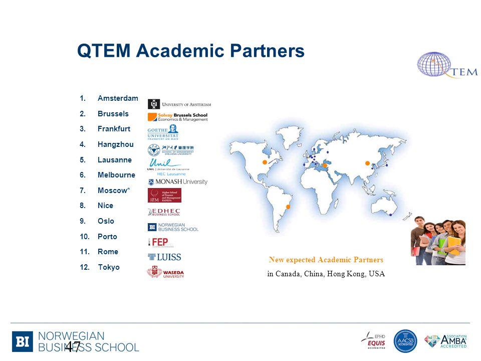 QTEM Academic Partners