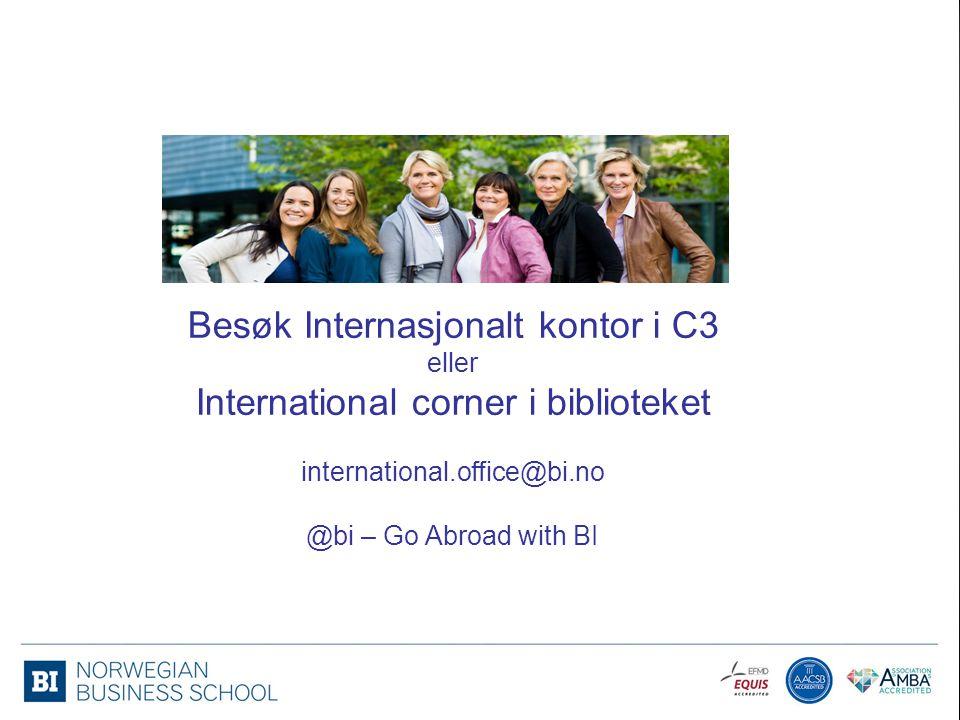 Internasjonalt Kontor in C3 Besøk Internasjonalt kontor i C3