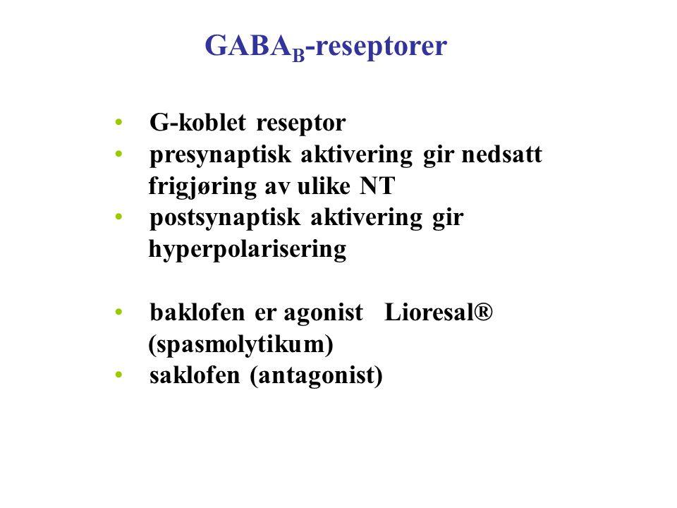 GABAB-reseptorer G-koblet reseptor