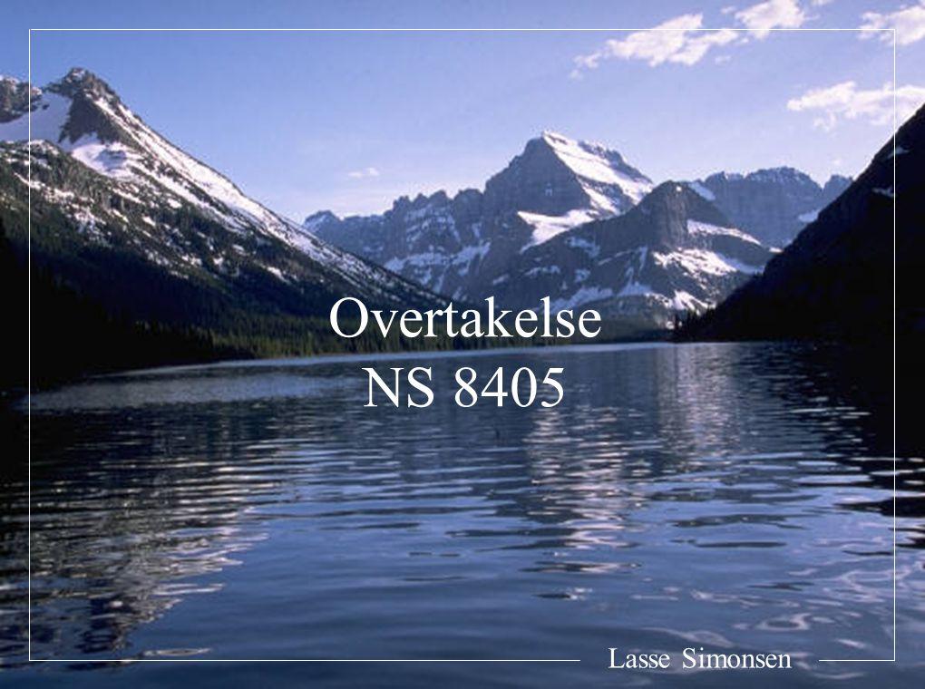 Overtakelse NS 8405 Lasse Simonsen