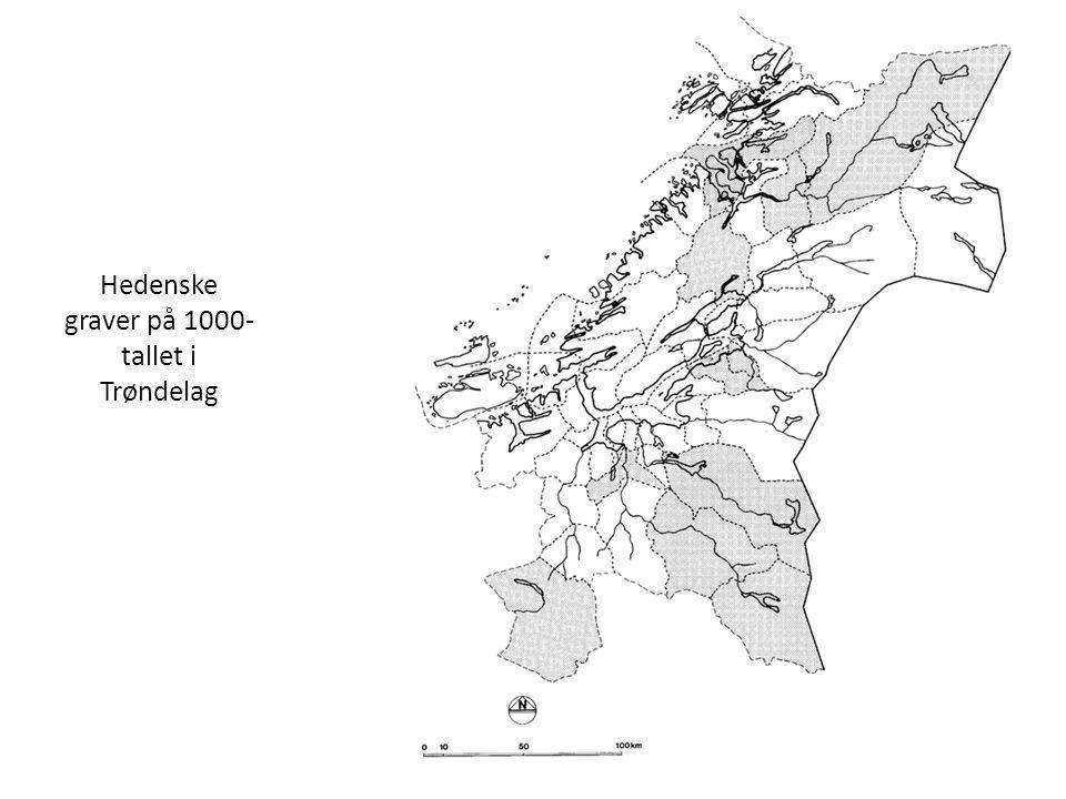 Hedenske graver på 1000-tallet i Trøndelag