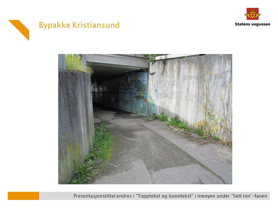 Bypakke Kristiansund I Gomabakken