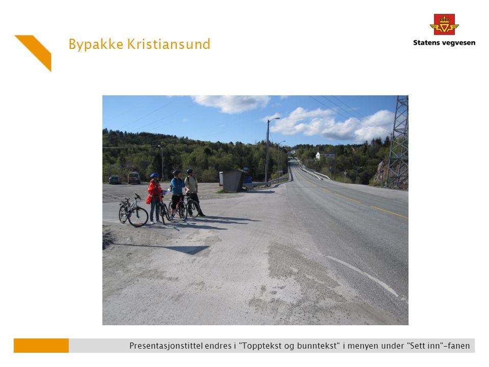 Bypakke Kristiansund og manglende forbindelser! (Ved Omsundet mellom Nordlandet og Frei)