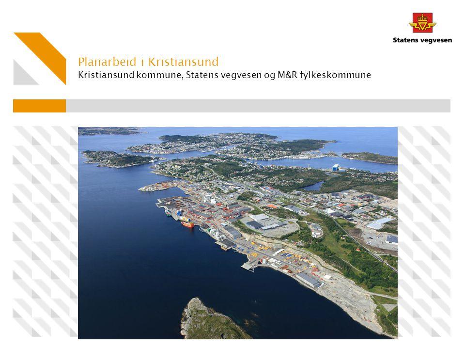 Kristiansund kommune, Statens vegvesen og M&R fylkeskommune