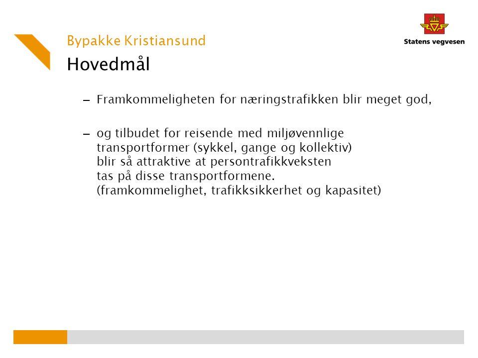 Hovedmål Bypakke Kristiansund